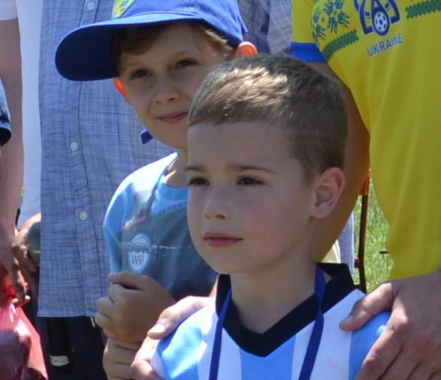 Наймолодший учасник змагань 7-річний Максим Репетівський
