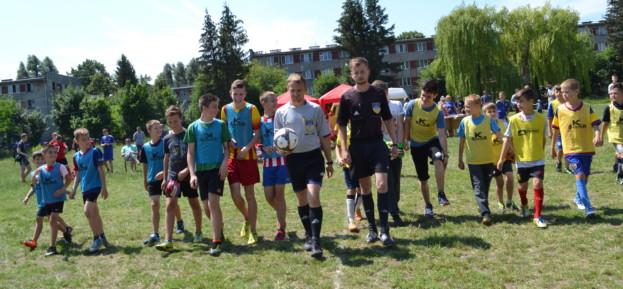 П'ять дитячих команд взяли участь турнірі «Футбольні вихідні»